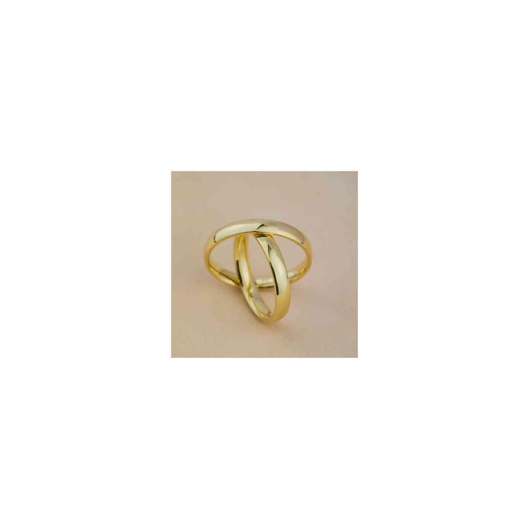 Set Verighete Diana din Aur 14K