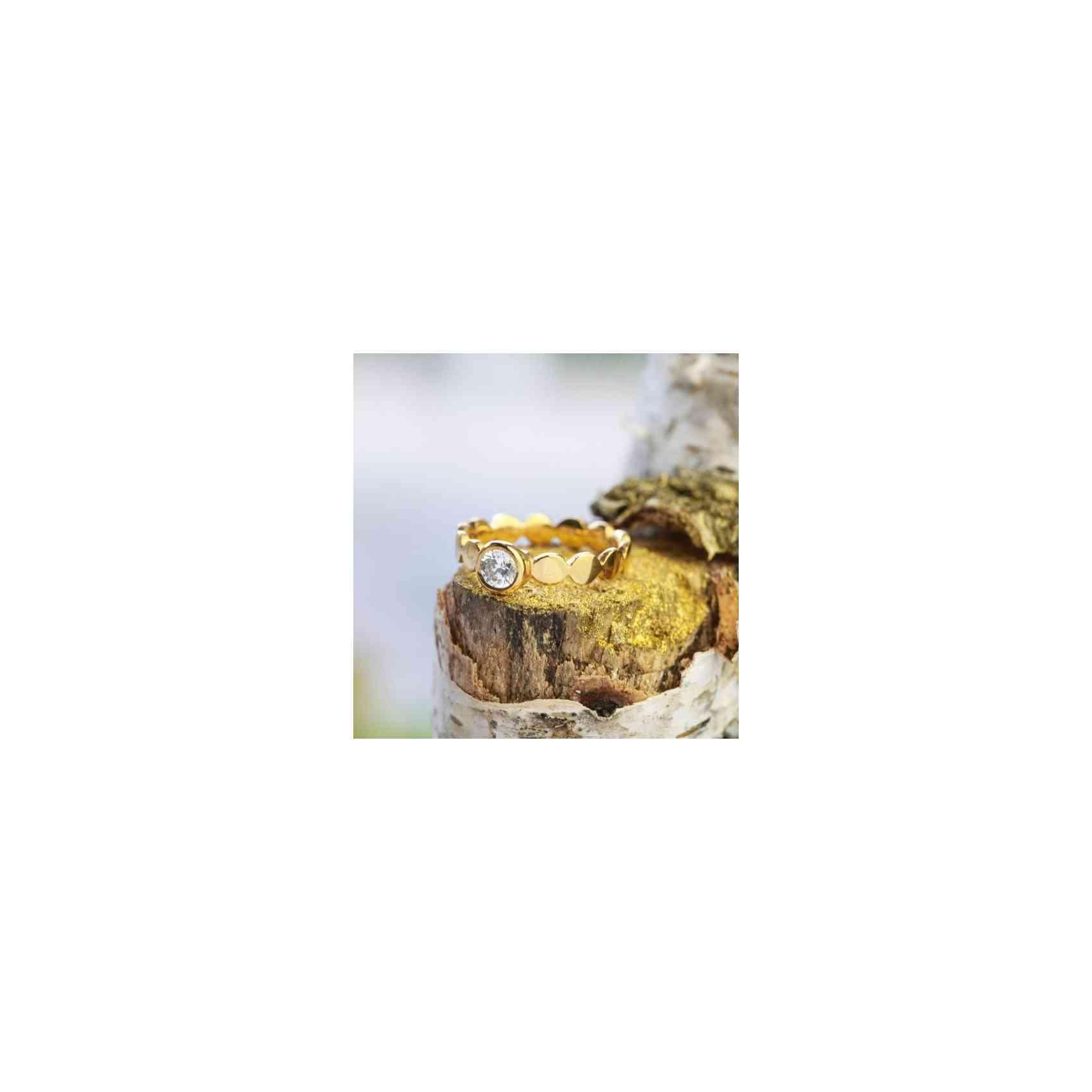 Inel Logodnă Aur 18K cu Diamant