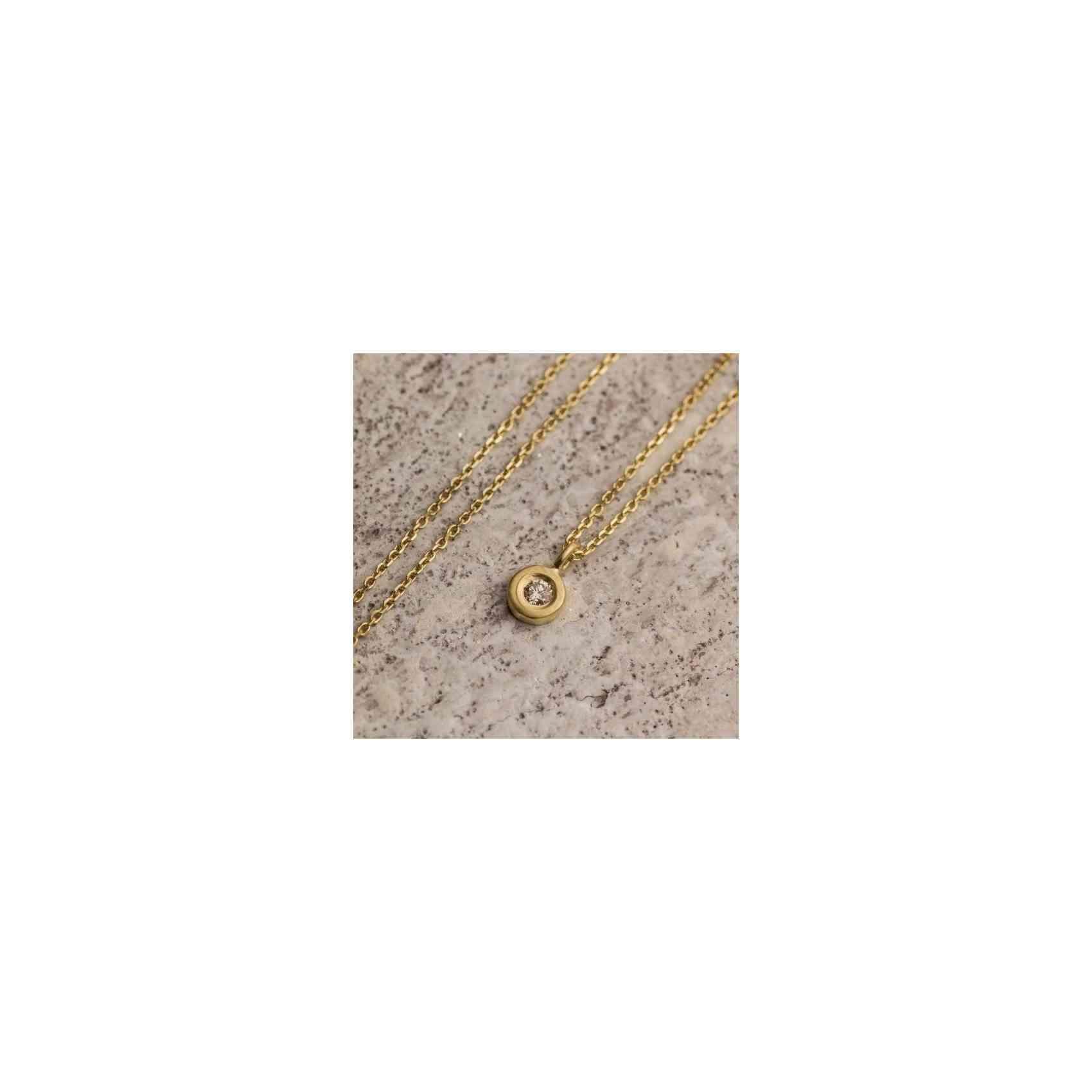 Colier din Aur 14k cu Diamant