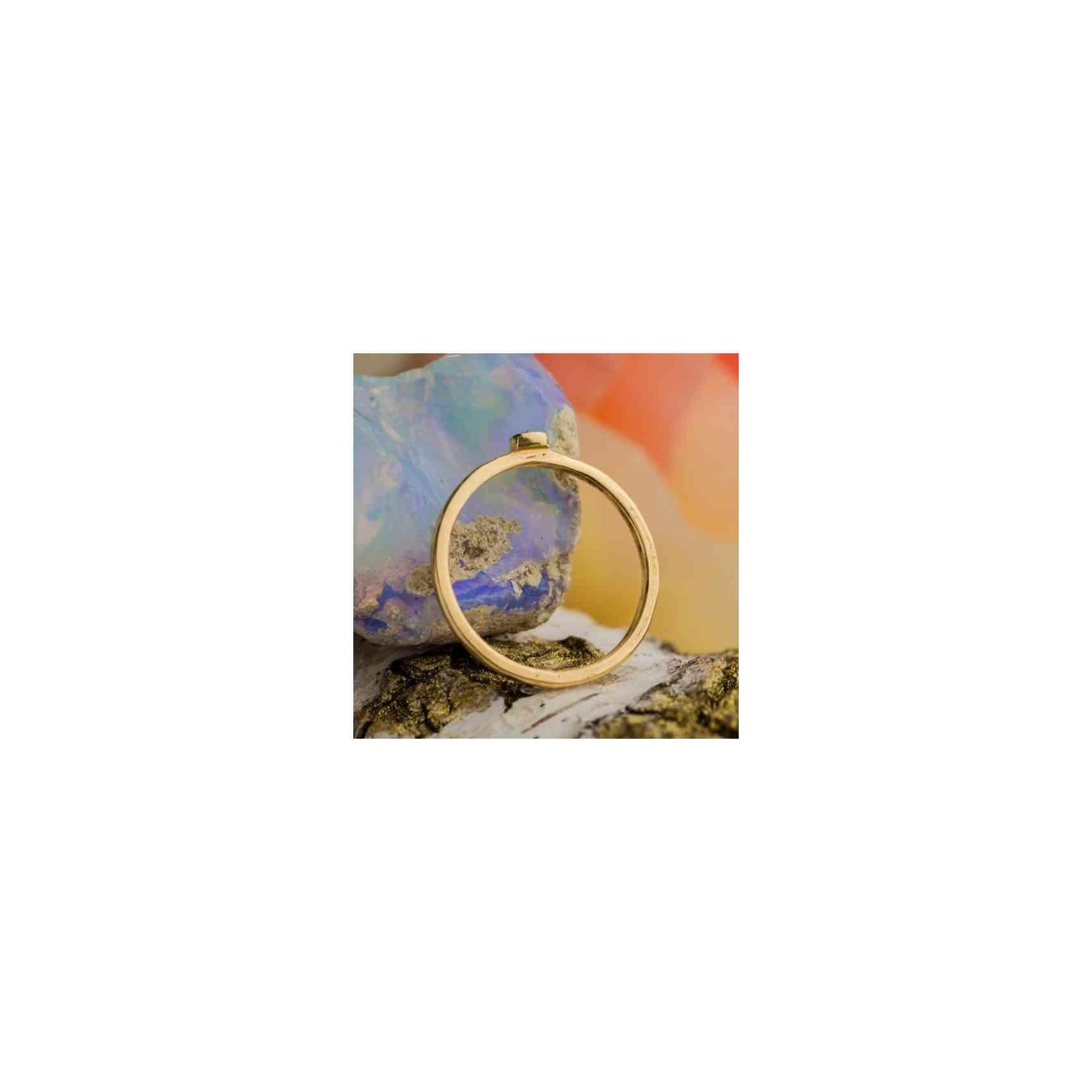 Inel Logodnă Aur 18K cu Safir