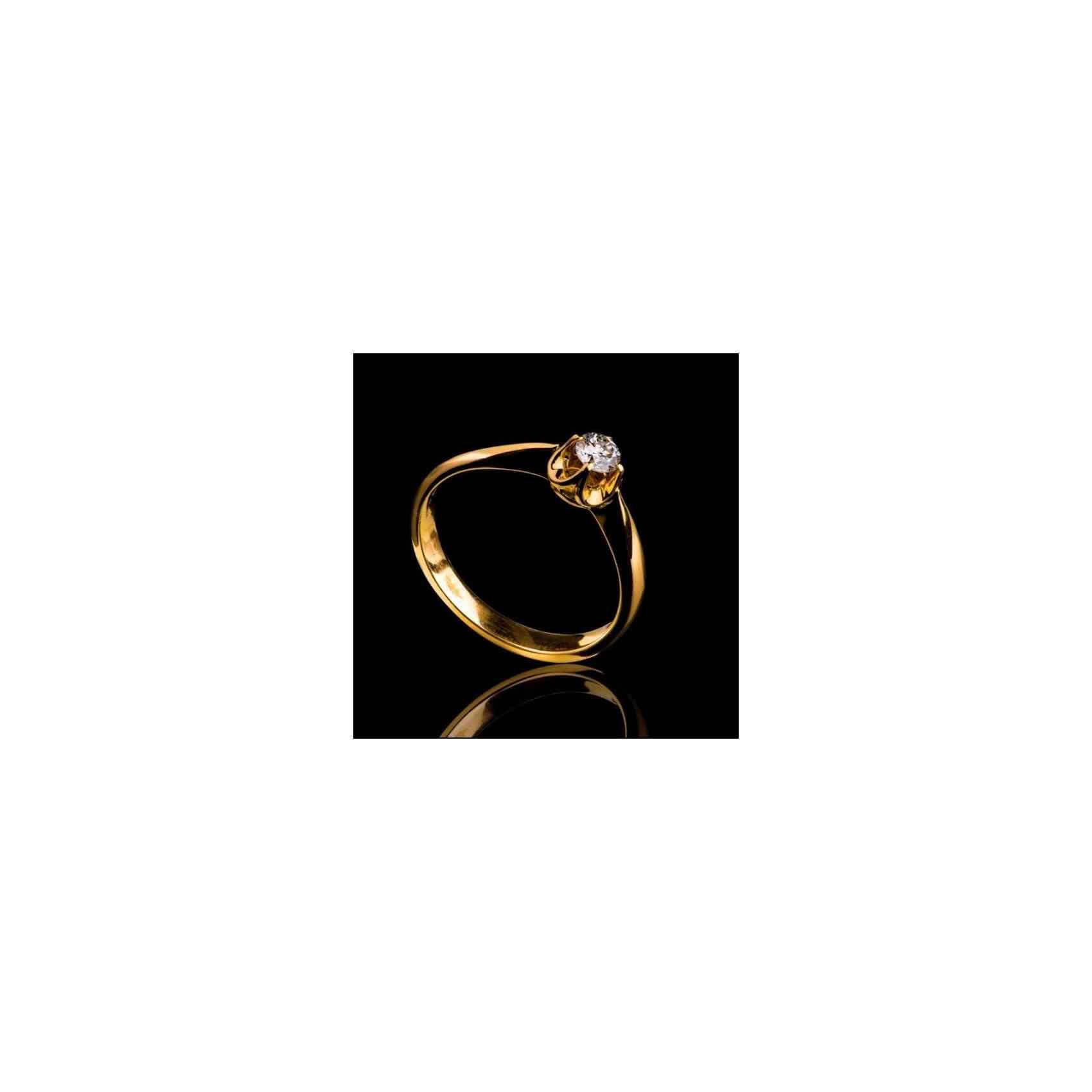 Inel de Logodnă din Aur 18k cu Diamant