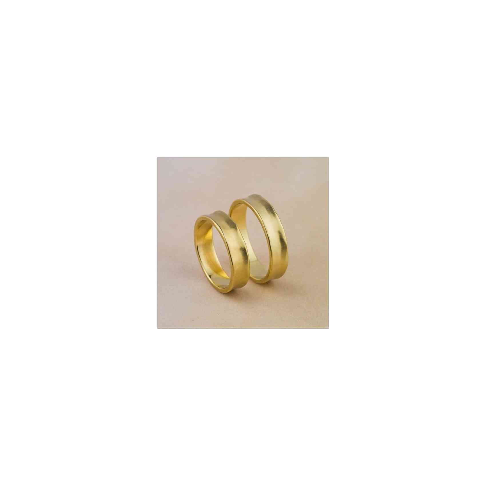 Set Verighete Adir Yellow din Aur 14K