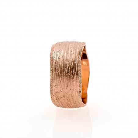 Inel din aur roz de 14K
